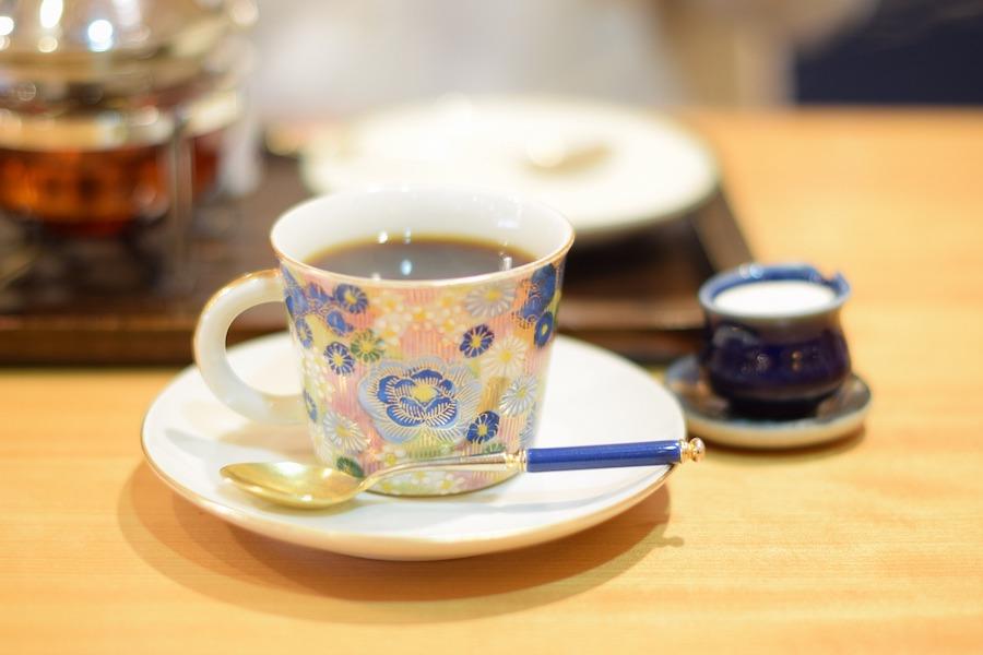 喫茶店の日