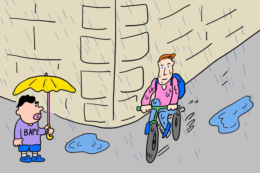 ドイツのナンスカ雨事情その1