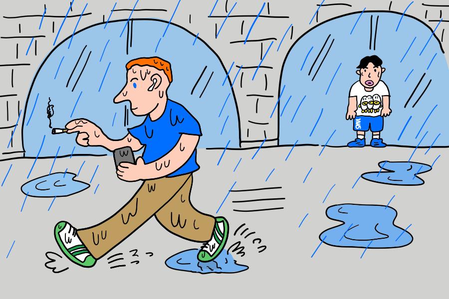ドイツのナンスカ雨事情その3