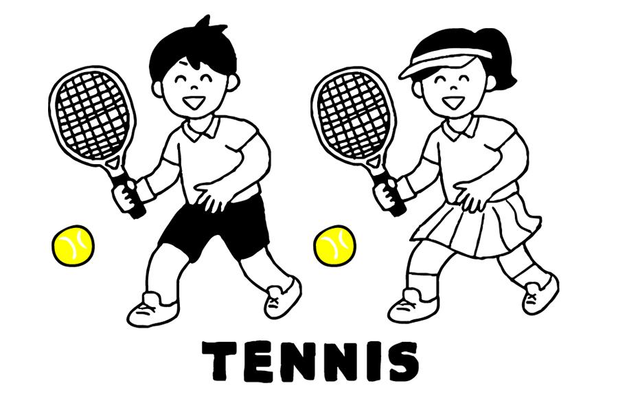 スポーツのナンスカ テニス