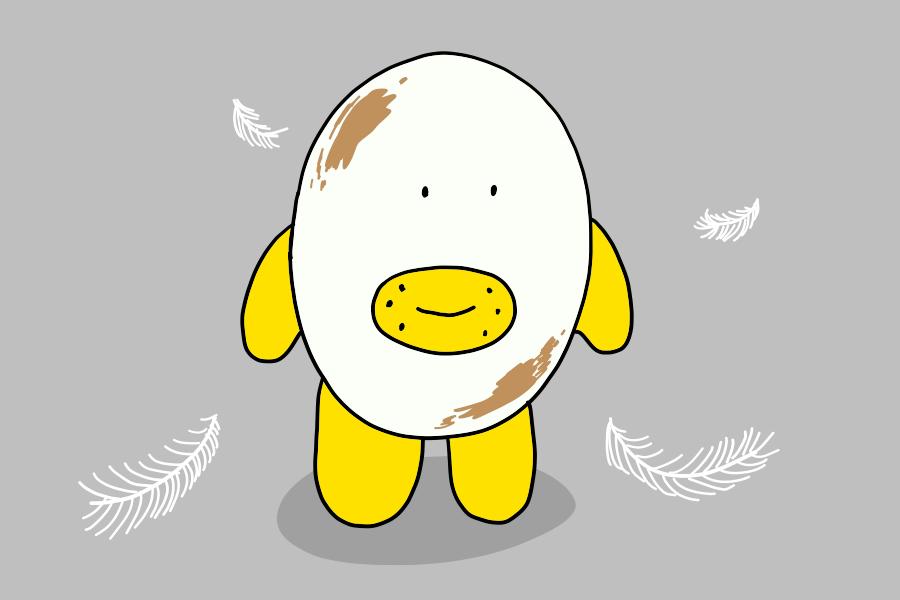ドイツの卵にはアレが付いている