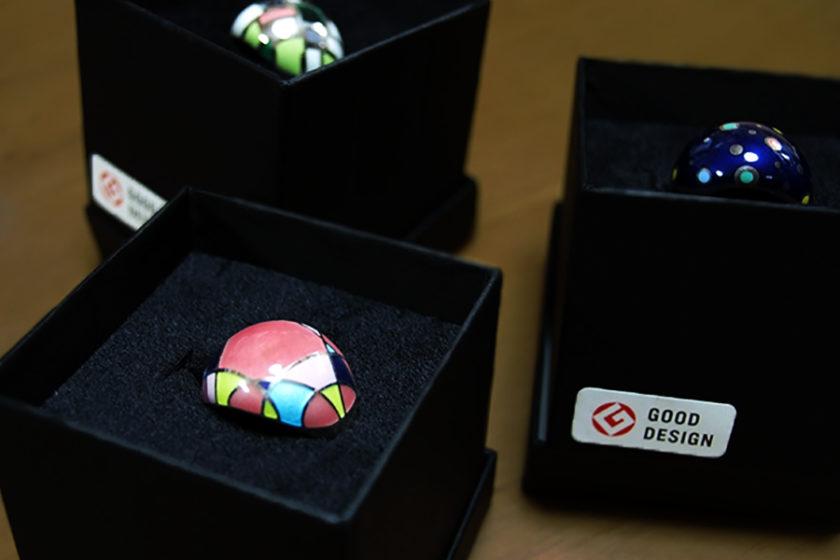 七宝が獲得した初のグッドデザイン賞。技術とアイディアで伝統工芸を進化させる 畠山七宝製作所。