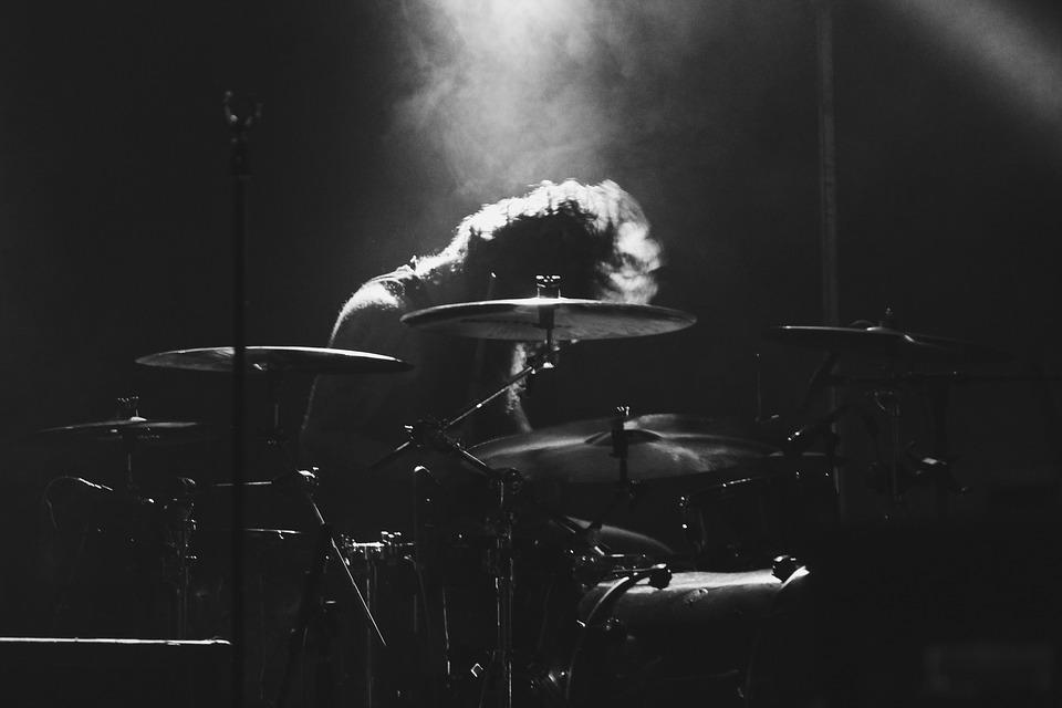 坂井さんのドラム