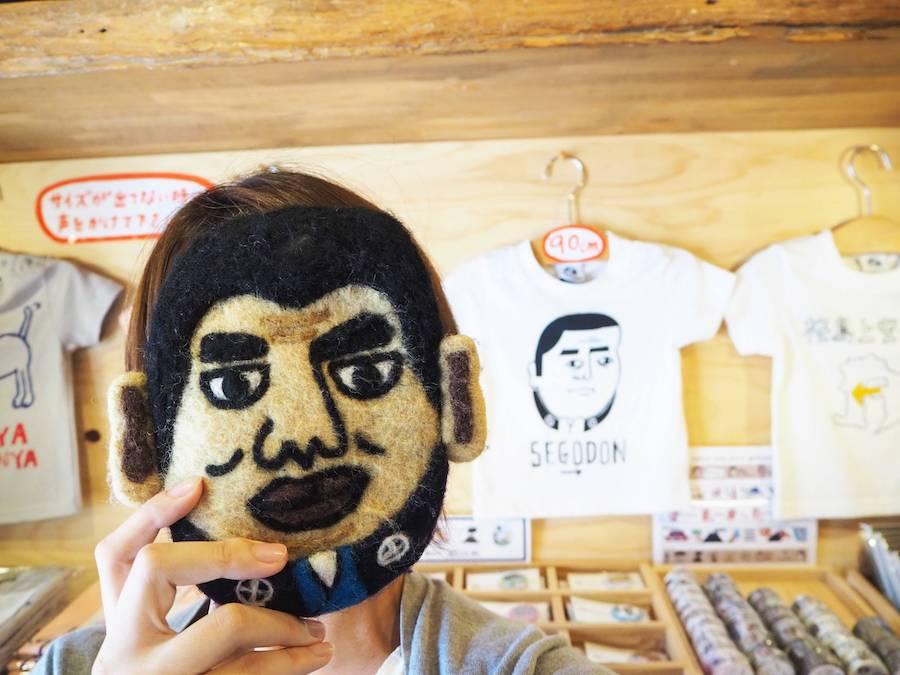 人気NO1の「SEGODON」Tシャツと、SEGODONになれちゃうフェルトポーチ