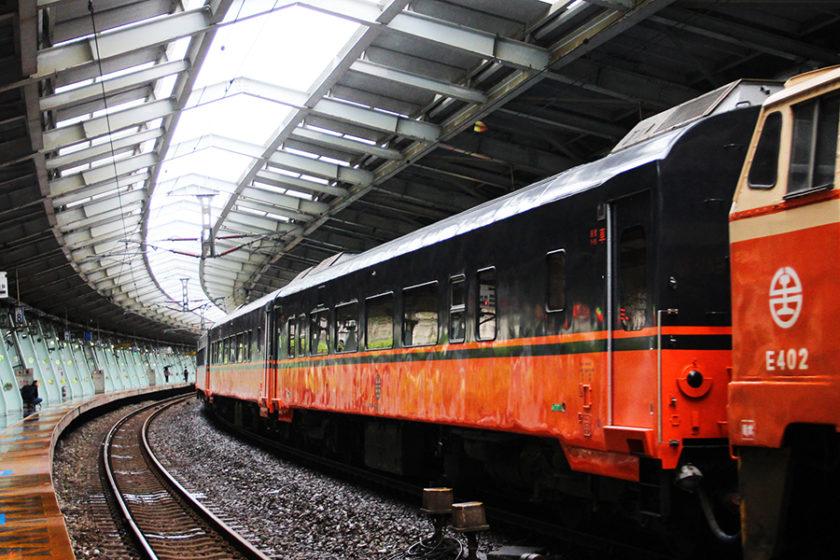 一新される、台湾の観光列車