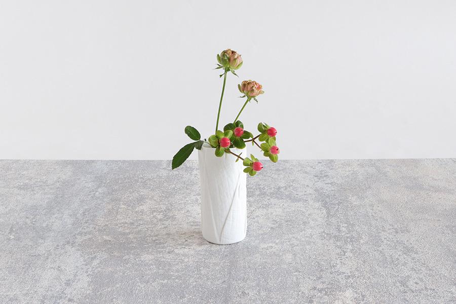 『ceramic mimic fabric』の花器は初心者にもオススメ