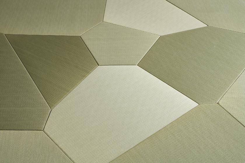 日本の伝統技術とテクノロジーが融合した、畳の新しいカタチ。 -ヴォロノイ畳『TESSE』