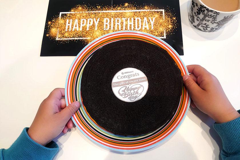 贈り物にぴったり!ビジュアル×おいしさ×音楽が揃ったオリジナルギフト「バウムレコード」