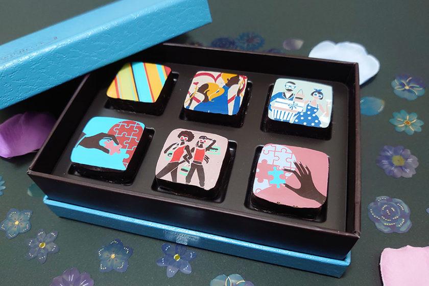 もはやアート!見るだけで幸せになるデザインが魅力のチョコレート「マリベル」