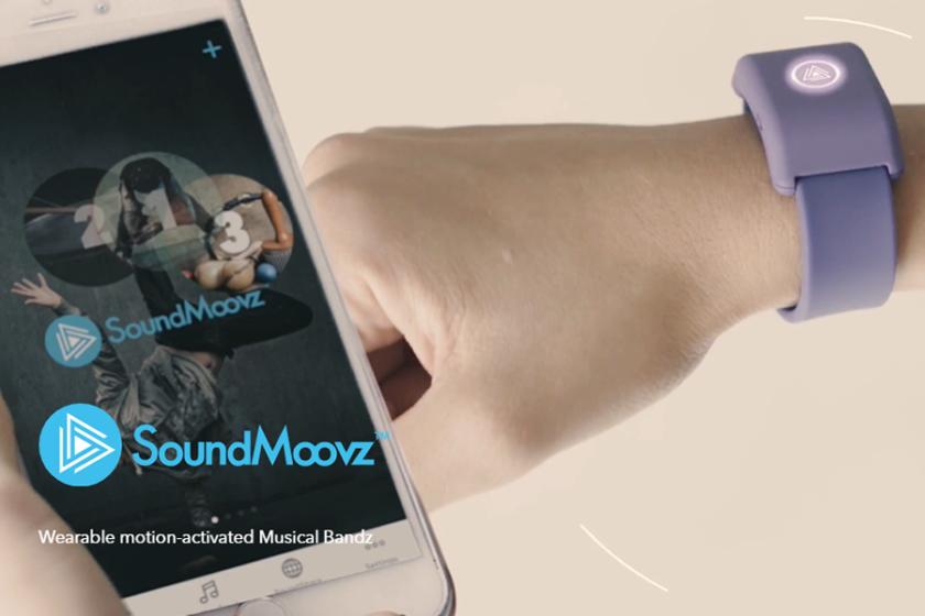 ウェアラブル楽器ガジェット「SoundMoovz」って!?