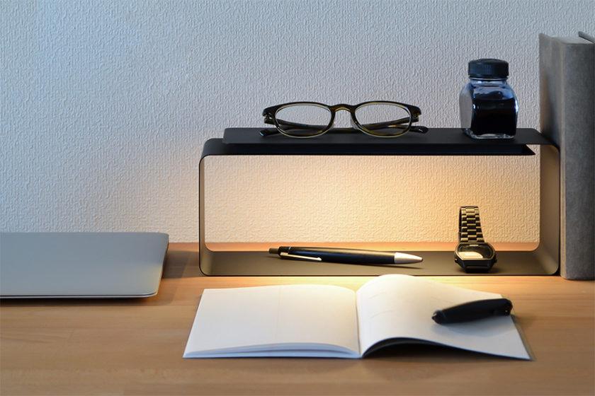 大切な暮らしのアイテムに、やわらかなスポットライト。 -Y.S.M PRODUCTS「LIGHT SHELF」