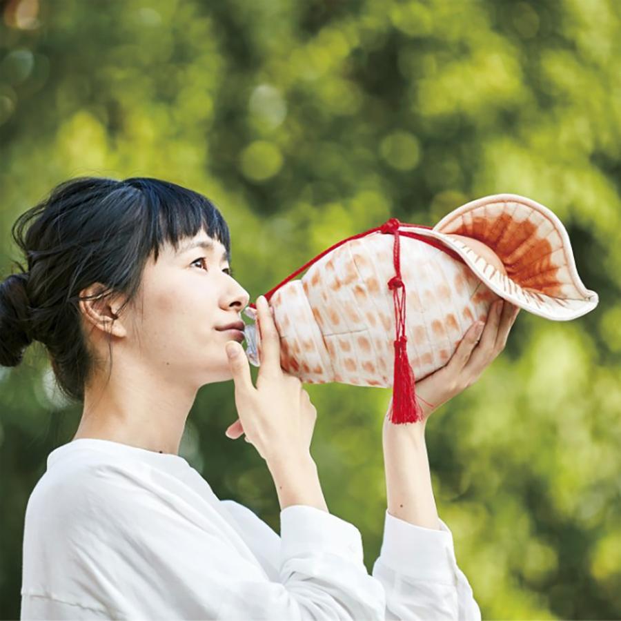 ほら貝ペットボトルケース