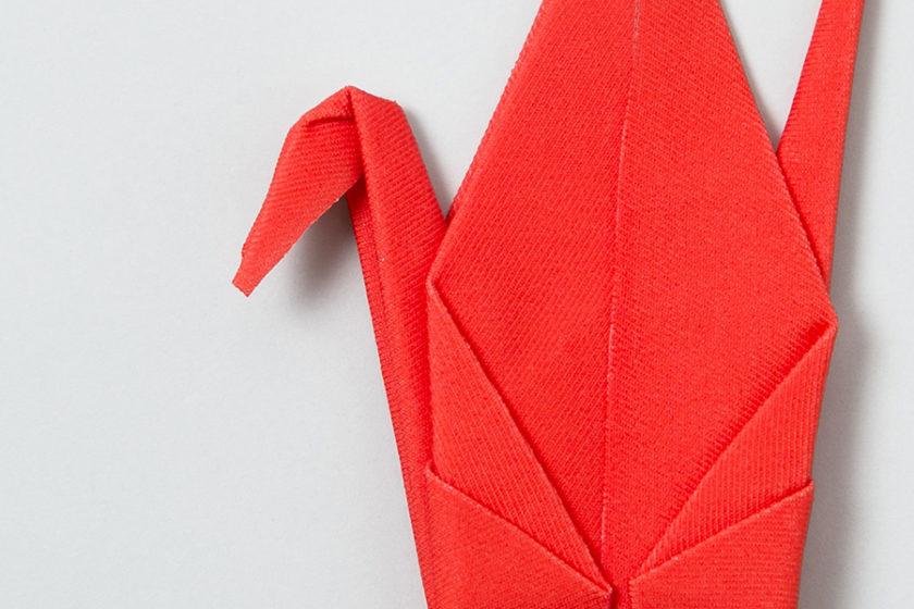 【サプライズな仕掛け付き】クリーニングクロス×折り紙「Peti Pto」
