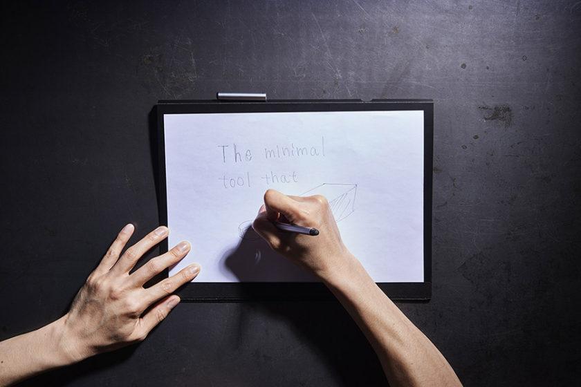 ひらめきの瞬間を逃さない。最高のアイデアを生むためのシンプルでミニマムなツール「HINGE」