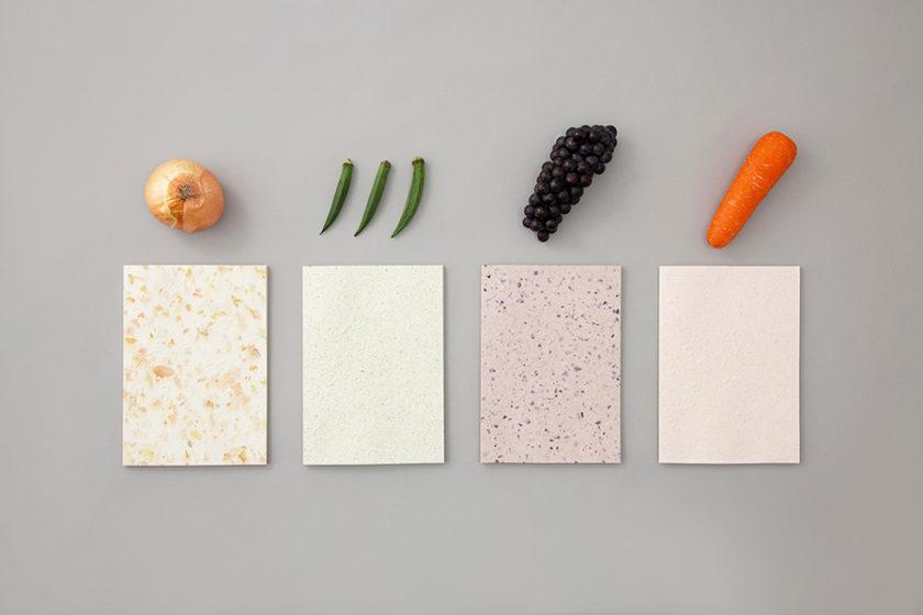 「この紙、食べものから出来ています」見て、触れて、心地いい「Food Paper」で、私たちの未来について考えよう。