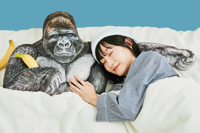 大人も子供も動物も!彼の腕に抱かれて眠りたい!『シャバーニのたくましい腕枕クッション』