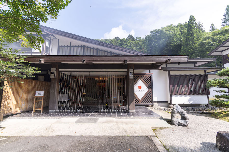 板室温泉 大黒屋 エントランス photo by ぷらいまり