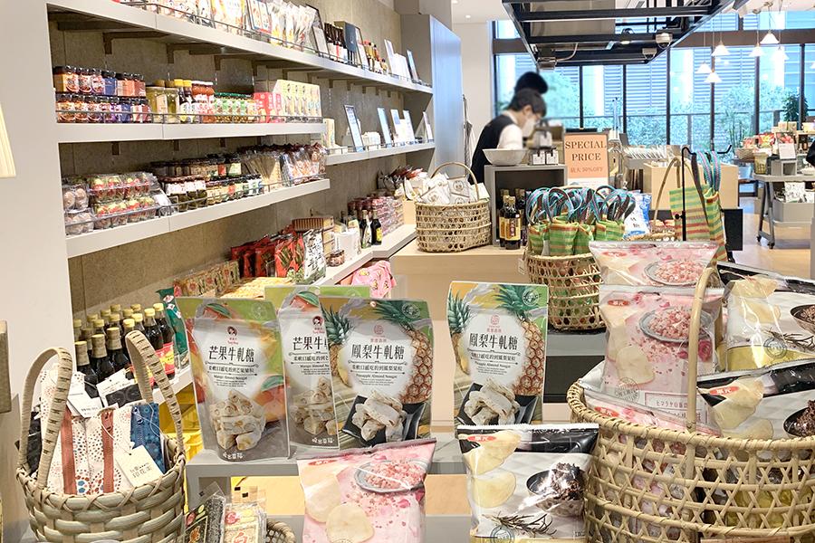 「誠品生活日本橋」食品ゾーンの一角