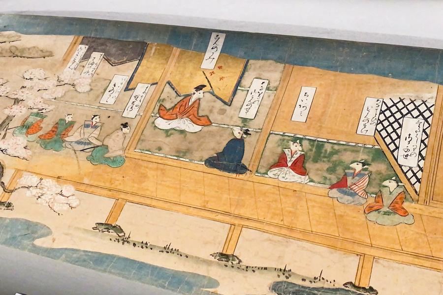 《鼠草子絵巻》(5巻のうち 室町〜桃山時代 16世紀) photo by ぷらいまり