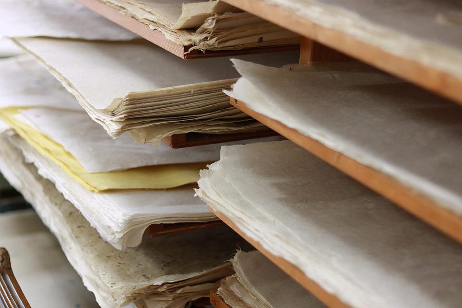 「手漉き和紙」の製作は畑仕事から。関わる人がすべて主役の「ものづくり」