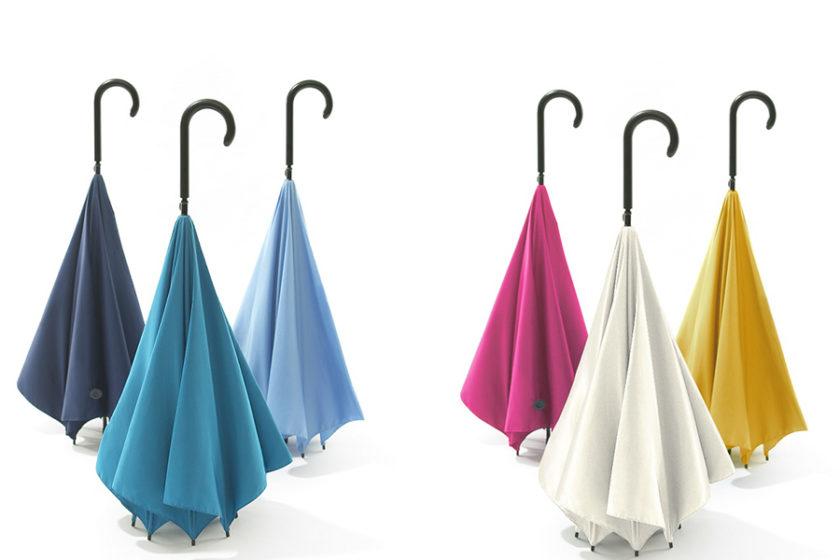 雨の日の傘にありがちなモヤモヤを解消する! 新しい傘「+d UnBRELLA」