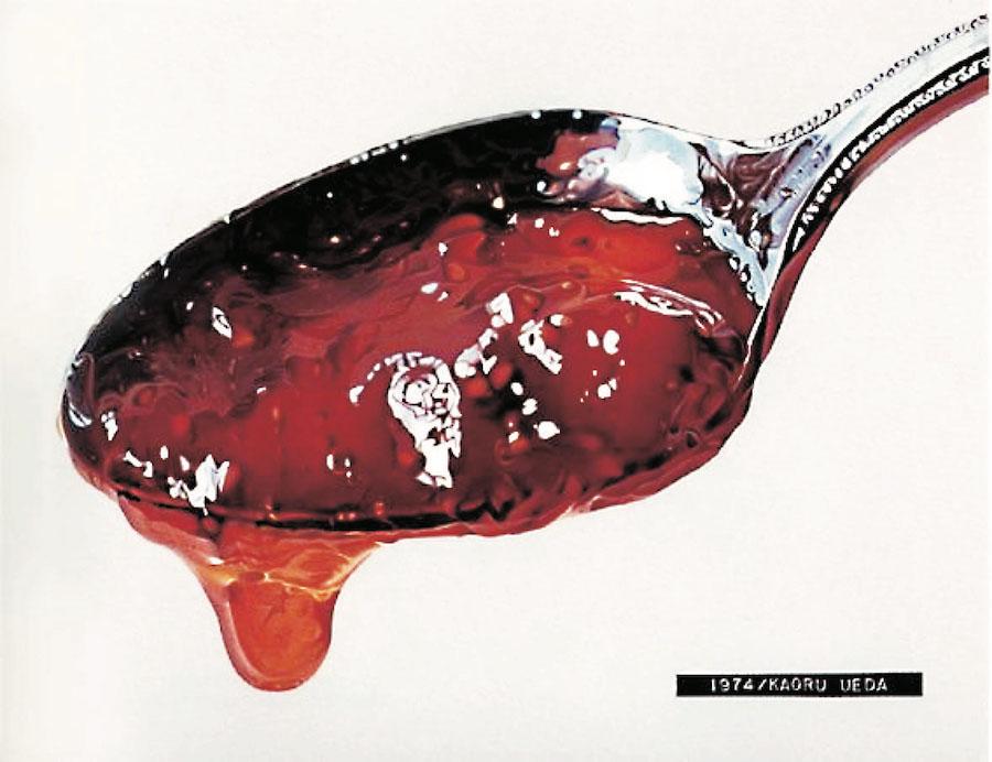 上田薫《スプーンのジャム A》 1974年 油彩・アクリル、キャンバス 東京都現代美術館蔵 画像提供:埼玉県立近代美術館