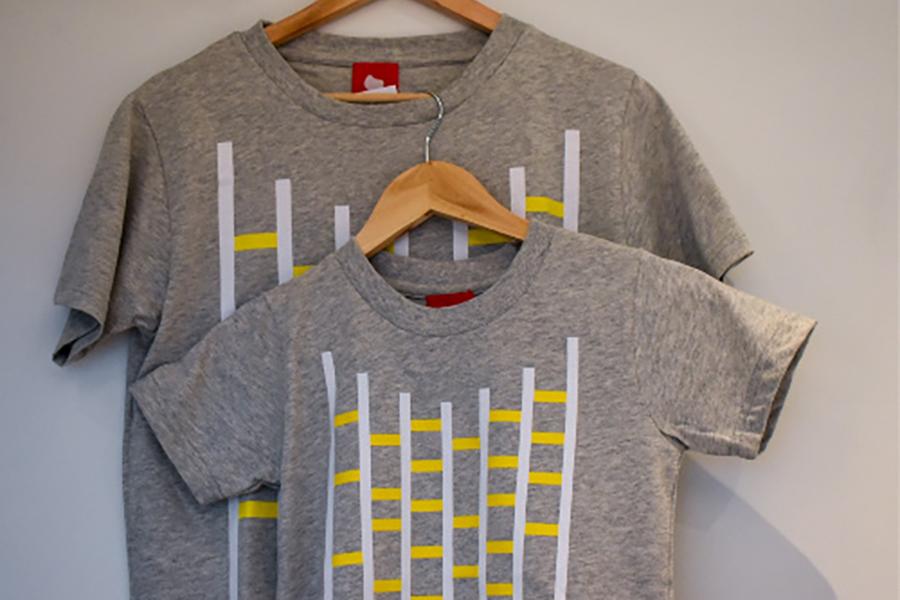 アミダTシャツ