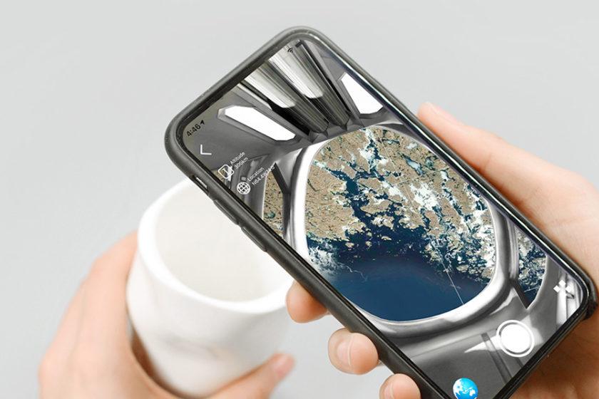 宇宙船に乗っている気分が味わえる? マグカップを覗くと美しい地球が見える「Cygnus Space Mug」