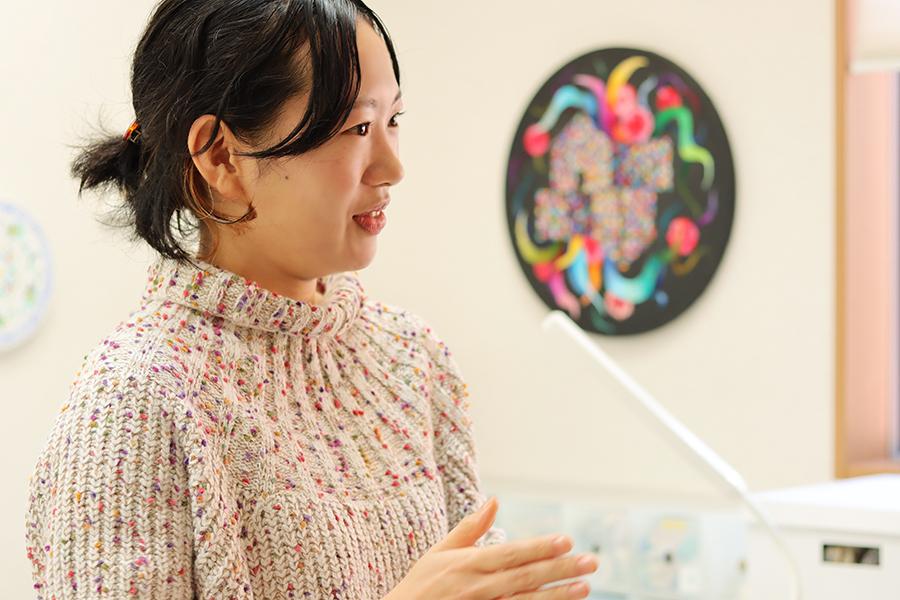 刺繍アーティスト okada mariko