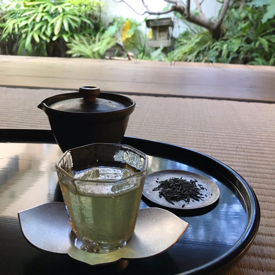 ゆっくりと日本茶を愉しめる(画像提供:©︎Sputnik Lab)