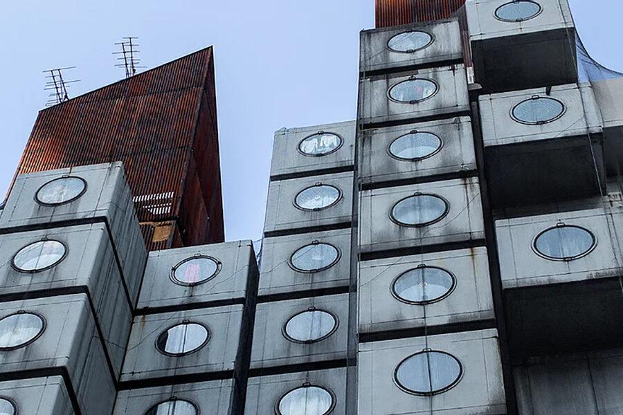 不便・雨漏り・老朽化上等!それでも人々を惹きつけるメタボリズムの真髄…歴史的名建築を皆で守ろう!!「中銀カプセルタワービル保存・再生プロジェクト」