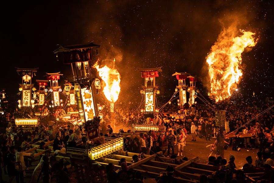 あばれ祭り(写真提供:能登町)
