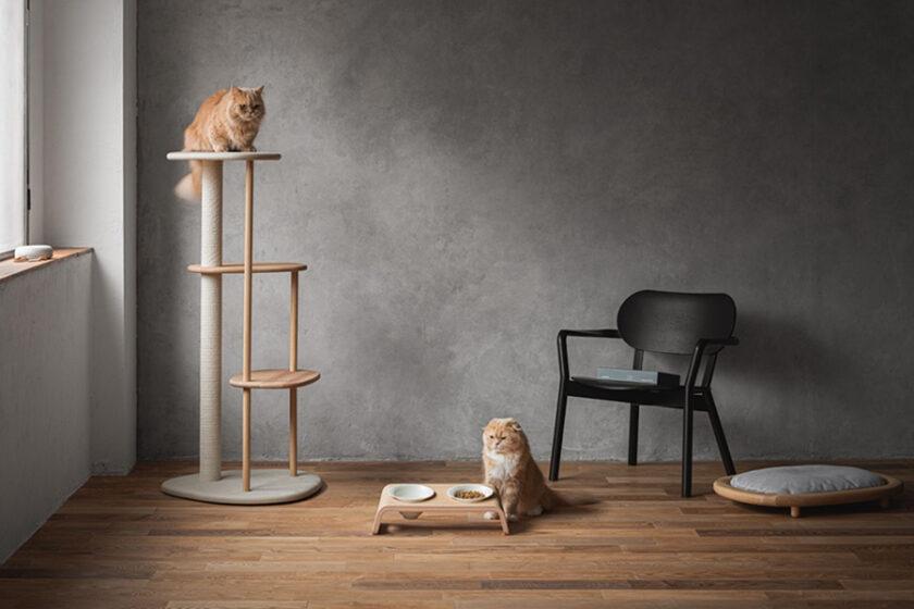 何がなんでも猫目線!!猫の心地良さを追求したら人が幸せになる…猫ファーストの心が宿った木製家具「KARIMOKU CAT(カリモクキャット)」
