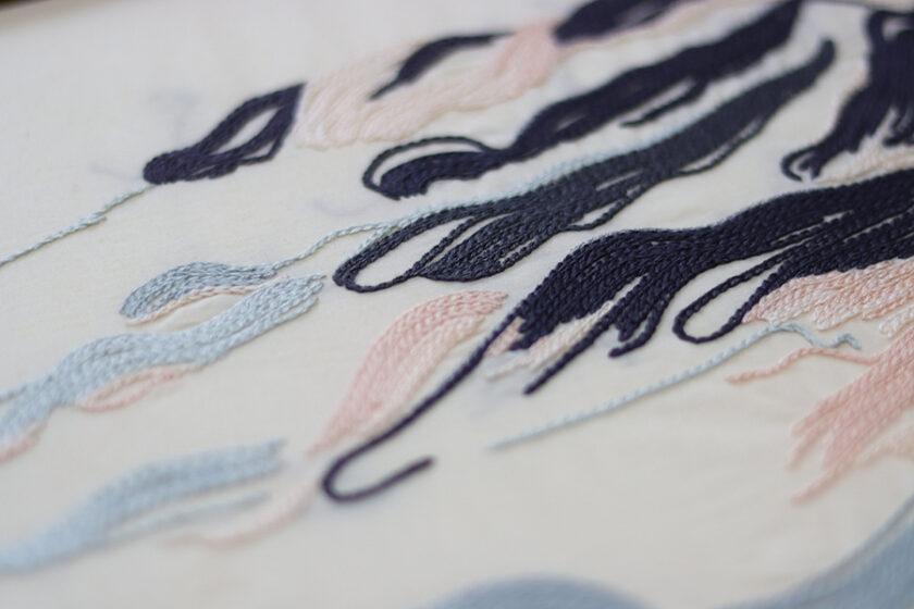 針に、思いをこめて ー 刺繍家 hoshi mitsuki