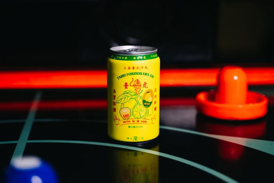 アルコール濃度5%の「マイヤーレモンサワー(MEYER LEMON FORMOSAWA)」(画像提供:©️台虎精醸)
