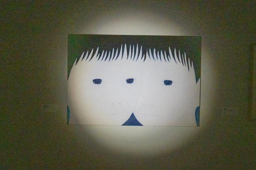 ≪three eyes≫ / 山本麻友香 photo by ぷらいまり