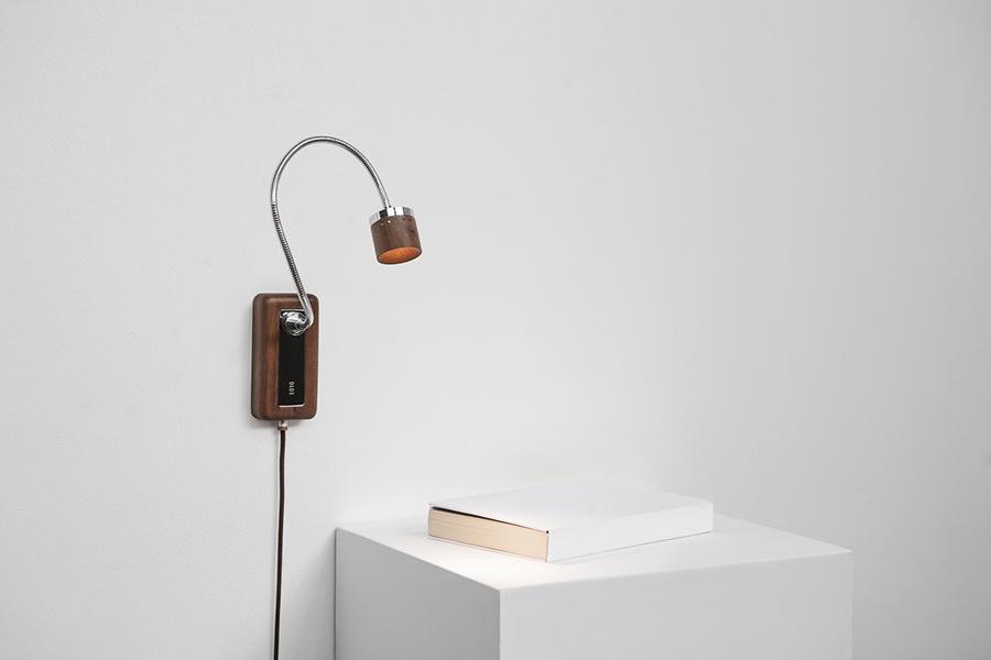 壁面に取り付けて使用できるランプ(画像提供:©️TPCreative)