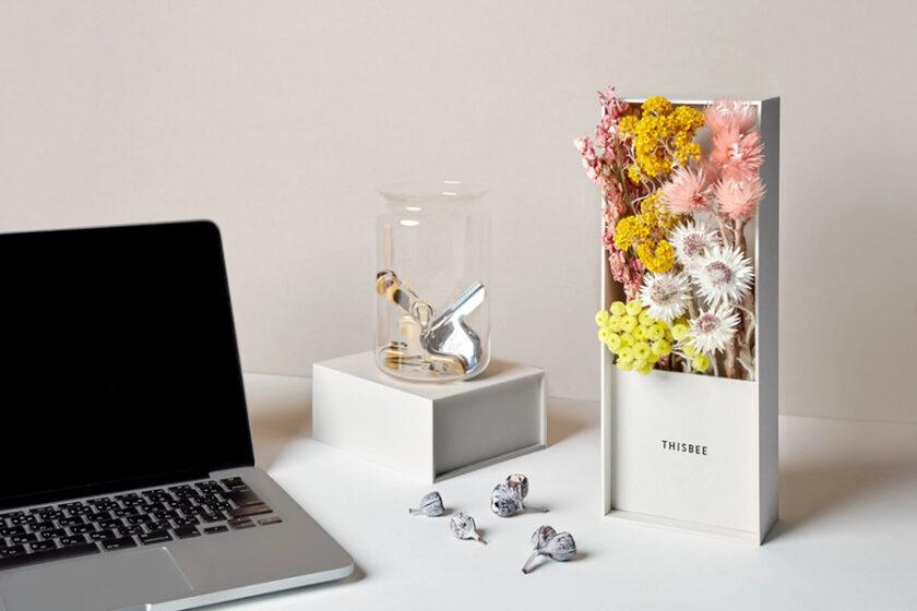 「なんて豊かなんだろう」──花の美しい瞬間をのがさないドライフラワーボックス──豊かさをもたらす媒介者が贈る「THISBEE(ディスビー)」