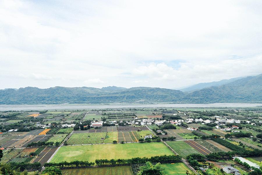 台湾東部は稲作が盛んで、自然環境も豊か