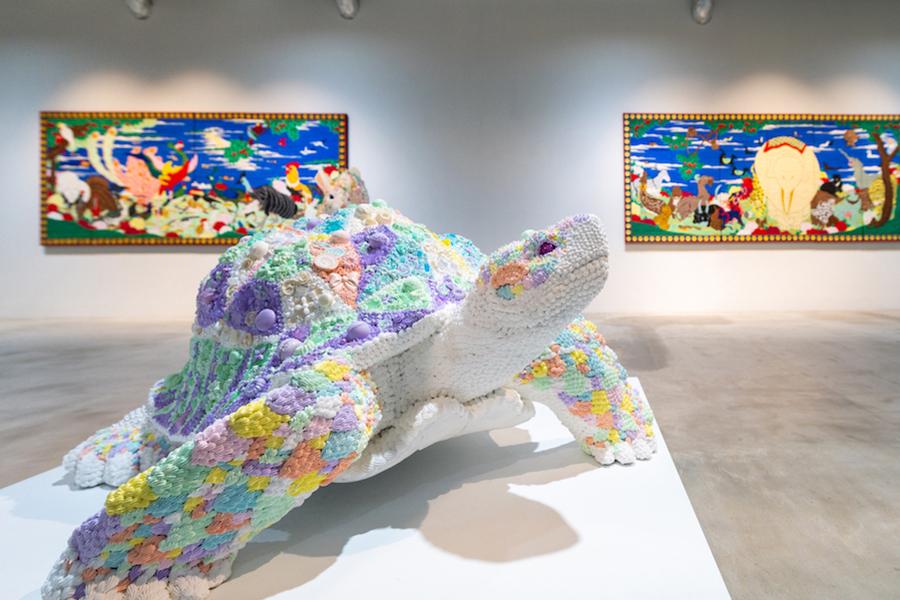 ≪Fairy tale-turtle-≫ / 渡辺おさむ  photo by ぷらいまり
