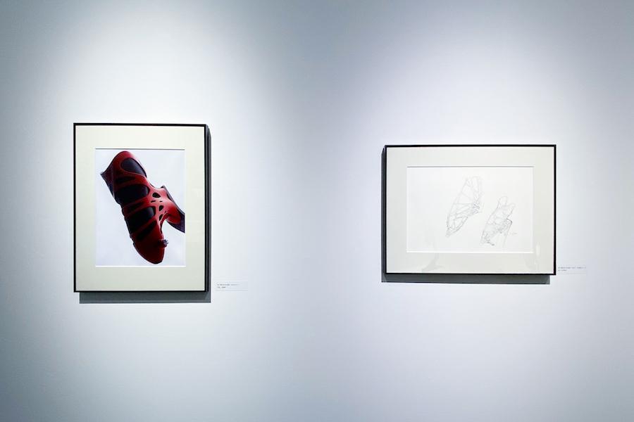 最新の素材でつくる義足のスケッチ photo by ぷらいまり