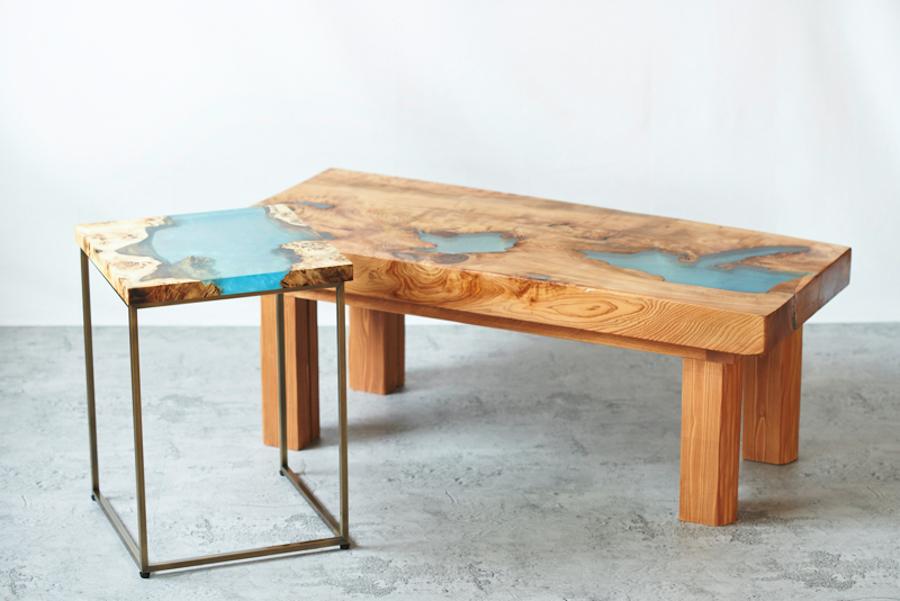 サイドテーブル&ベンチ