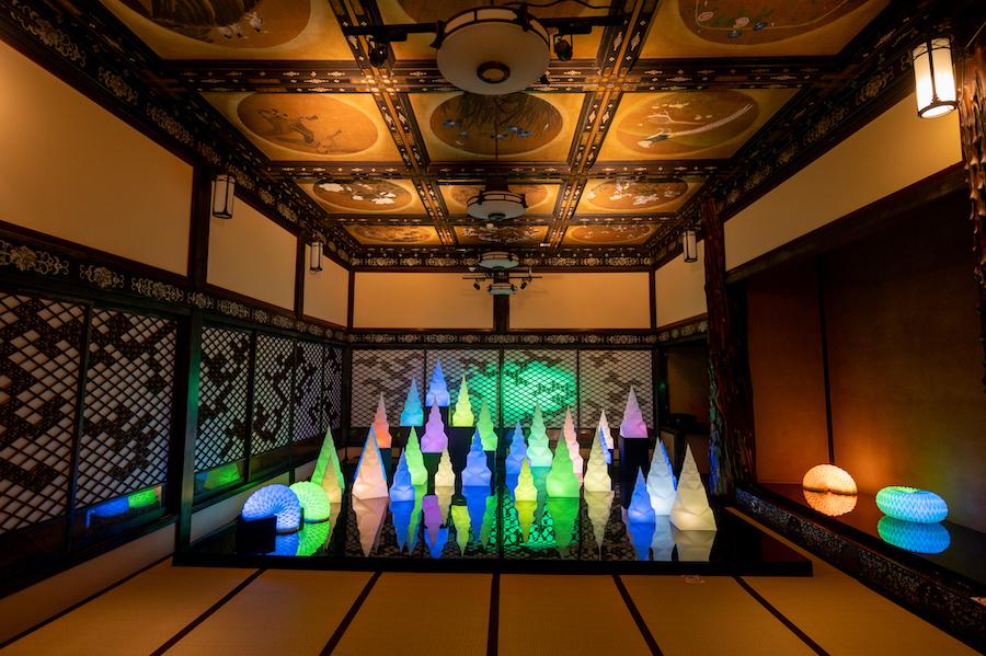「十畝の間」展示風景 photo by ぷらいまり