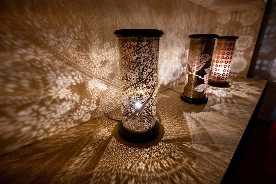 「籠染灯籠」 photo by ぷらいまり