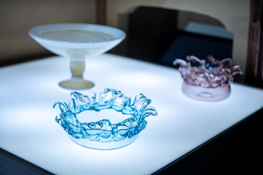「月夜野工房」によるテーブルウェア photo by ぷらいまり