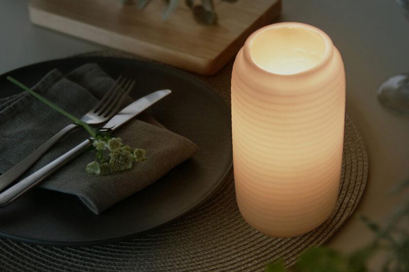 毎日の暮らしの中にホッとする時間を…日本を心地良く感じるための提灯のあかりをあなたに「Chouchin Candle(提灯キャンドル)」